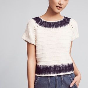 Anthropologie Feltwork Top